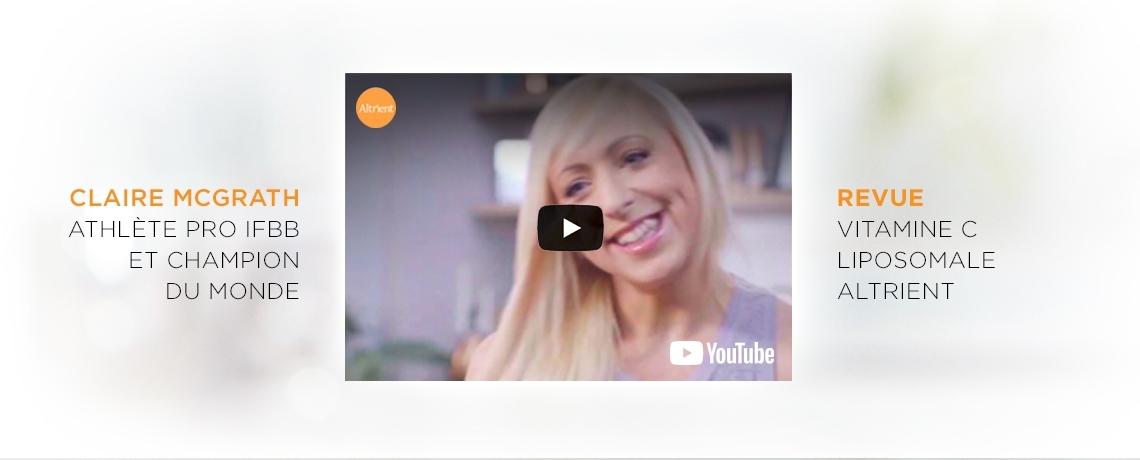 Claire McGrath Revue Vitamine C Liposomale Altrient