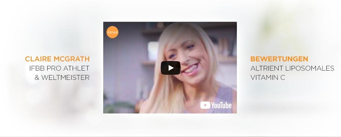 Claire McGrath Bewertungen Altrient Liposomales Vitamin C