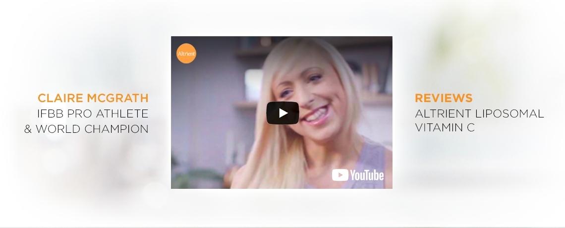 Claire McGrath Reviews Altrient Liposomal Vitamin C