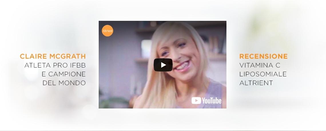 Claire McGrath Recensione Vitamina C Liposomiale Altrient