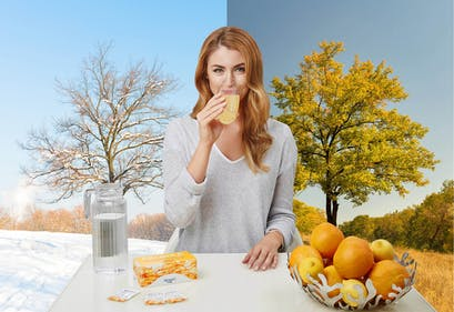 How vitamin C supports the immune system.