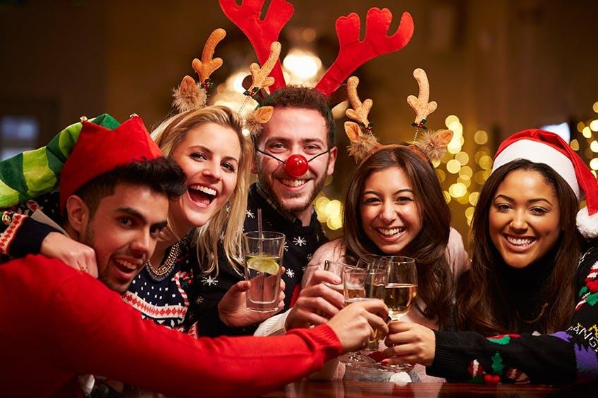 Hallo Weihnachten, Auf Wiedersehen Gesundheit!