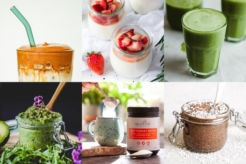 9 Delicious Butterfat Keto recipes to fuel your day! Bulletproof coffee, Smoothies and Snacks