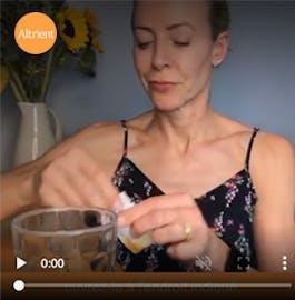 Alice Hart Davis reivews Altrient Liposomal Vitamin C